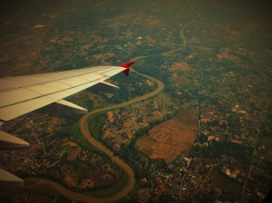flying from chiang mai - bangkok